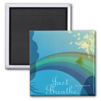 just breathe, doonidesigns.net magnet
