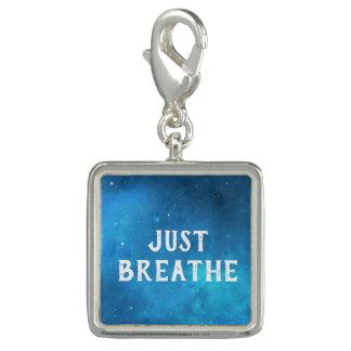 Just Breathe Galaxy Sky Charm