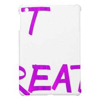 Just breathe. iPad mini cover