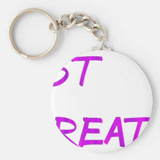Just breathe. keychain