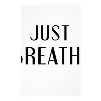 just Breathe Stationery