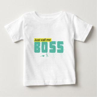 Just call me boss Baby Fine Jersey T-Shirt