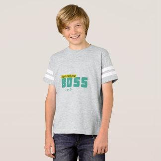 Just call me boss Kids' Football Shirt