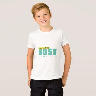 Just call me boss Kids' Jersey T-Shirt