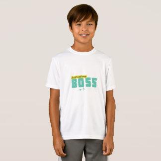 Just call me boss Kids' Sport-Tek Competitor T-Shi T-Shirt