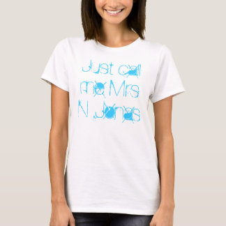 Just call me Mrs N .Jonas T-Shirt