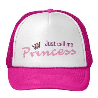 Just call me princess trucker hat