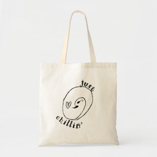 Just Chillin Budget Tote Bag