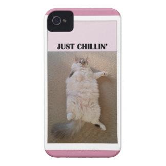 """Just Chillin'"" cellphone case"