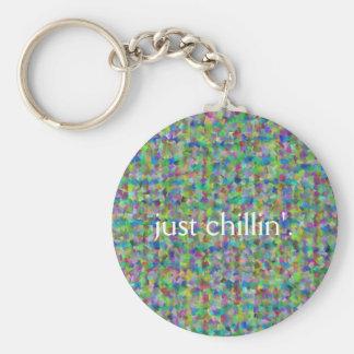 Just chillin' keychain