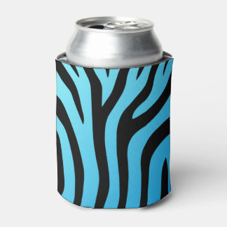 Just Cool Zebra Stripe Can Cooler
