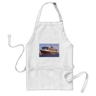 Just cruisin': cruise ship standard apron