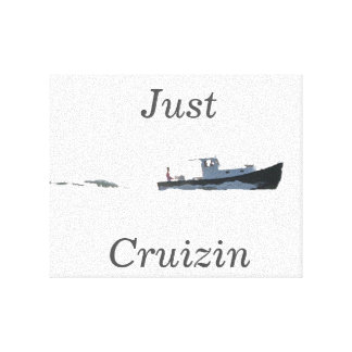 Just Cruising - Custom Canvas Print
