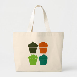 Just Cupcakes Large Tote Bag