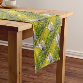 Just Curious Short Table Runner