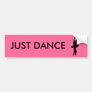 JUST DANCE BUMPER STICKER