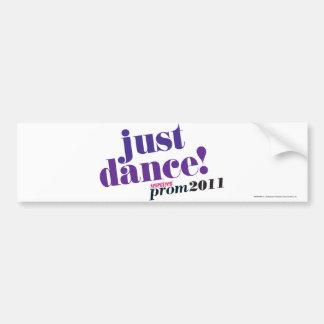 Just Dance - Purple Bumper Sticker
