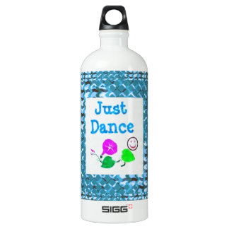 JUST Dance - Sparkle BLUE Diamond Base LOWPRICE SIGG Traveler 1.0L Water Bottle