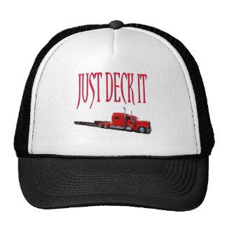 Just Deck It Trucker Hat