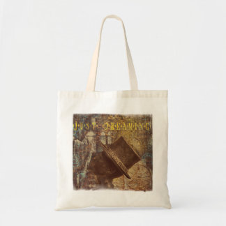 Just dreaming tote shopping bag