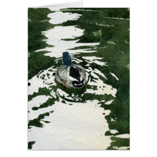 """Just Ducky"" by Iain Stewart Card"