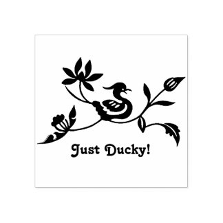 Just Ducky Gives Approval Rubber Stamp