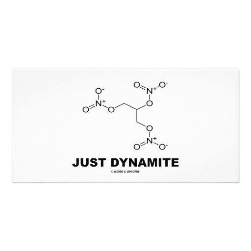 Just Dynamite (Nitroglycerin Chemistry Molecule) Picture Card