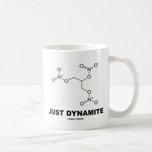 Just Dynamite (Nitroglycerin Molecule) Mugs