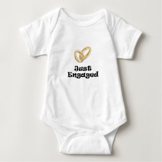 Just Engaged Baby Bodysuit