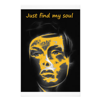 just find my soul stationery