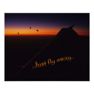 Just Fly Away Poster