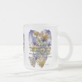Just For Aunts Frosted Glass Coffee Mug