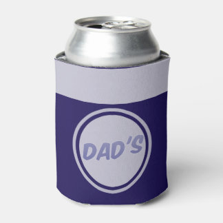 Just for Dad Navy Blue Can Cooler