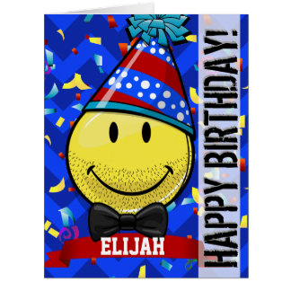 Just for Him! Giant Smile Custom Big Birthday Card