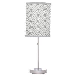 Just for Men Diamond Plate Pattern Desk Lamp