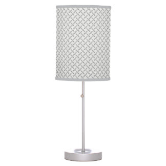 Just for Men Diamond Plate Pattern Table Lamp