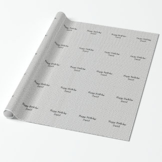 Just for Men Diamond Plate Wrapping Paper