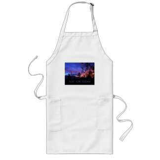 Just For Today Spring Sunrise Long Apron