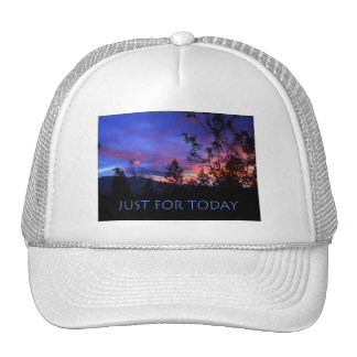 Just For Today Spring Sunrise Trucker Hat