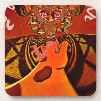 Just Funny Giraffe image design Coaster