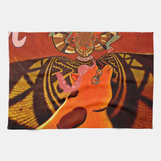 Just Funny Giraffe image design Towel