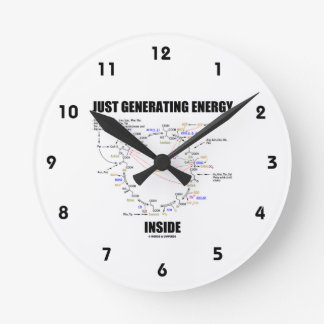 Just Generating Energy Inside Biochemistry Krebs Round Clock