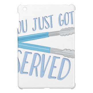 Just Got Served Cover For The iPad Mini