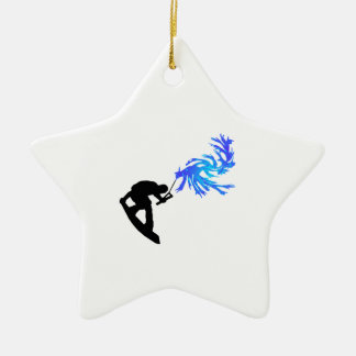 Just Grab It! Ceramic Ornament