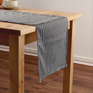 Just Grate Vector Heather Short Table Runner