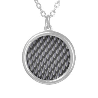 Just Grate Vector Heather Silver Plated Necklace