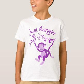 Just hangin' funky monkey tee