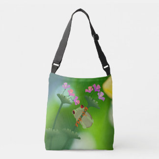 Just Hanging Around Frog Tote Bag