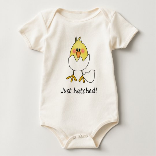 Just Hatched baby   Baby Bodysuit