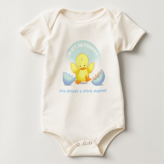 Just Hatched Chick Magnet T-Shirt